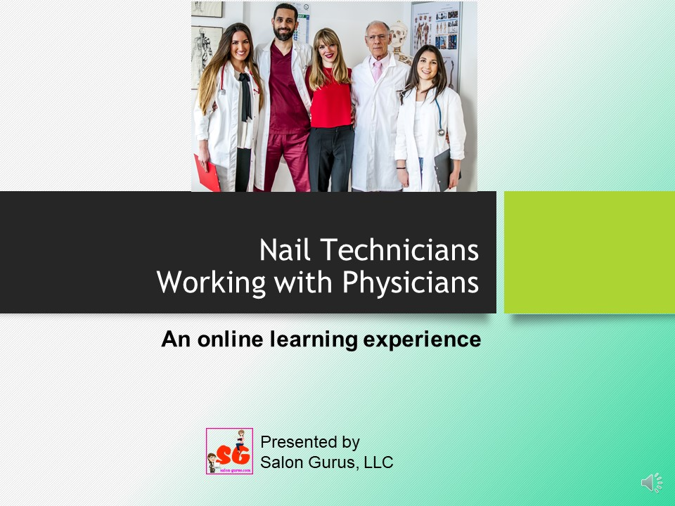 Nail Technicians Working With Physicians